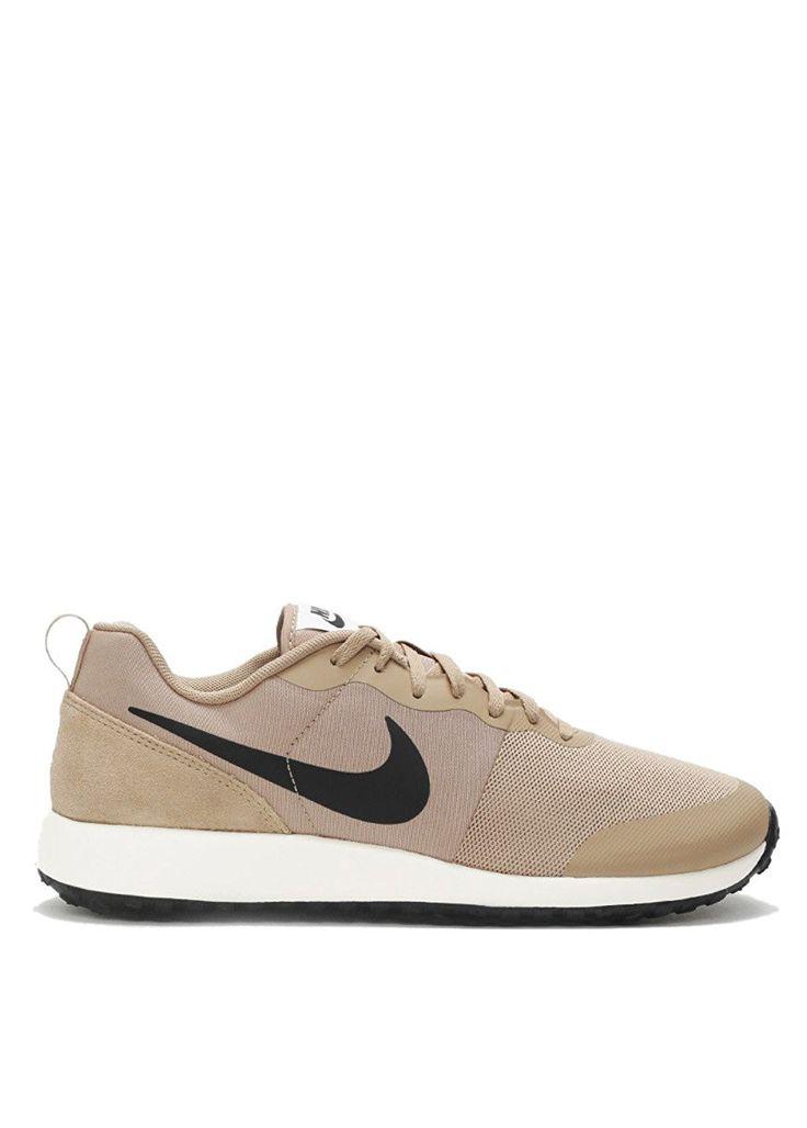 Nike Elite Shinsen Leather Sneakers Size 10 (Desert Beige/Black/Sail)