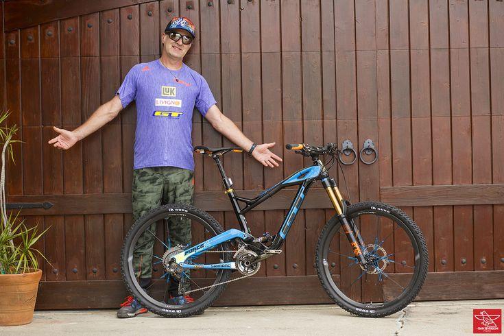 Legend Bike Check: Hans Rey's GT Force X Pro - Legend Bike Check: Hans Rey's GT Force X Pro - Mountain Biking Pictures - Vital MTB