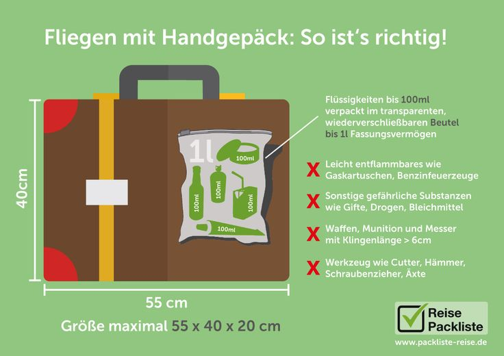 #Reisen mit #Handgepäck. Was muss man beachten? Was darf mit und wie zum Geier läuft das mit den Flüssigkeiten?