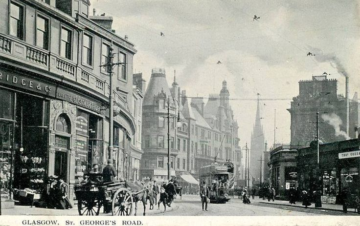 St George's Road Glasgow -1902