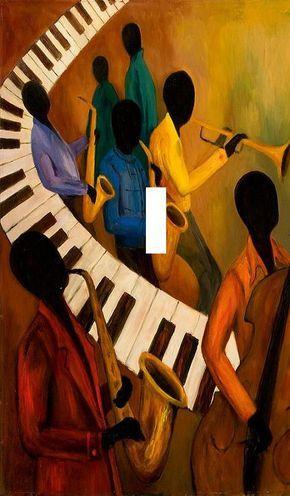 Résumé de jazz léger voyage de plaque par SindyOriginalDecor