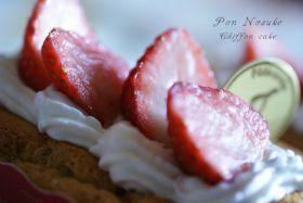 「カップinシフォン」ぽんのすけ | お菓子・パンのレシピや作り方【corecle*コレクル】