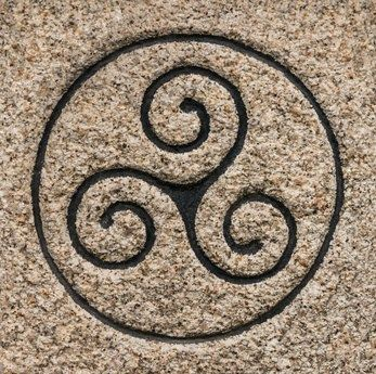 Triskele or three spiral – meaning today and in the Celts