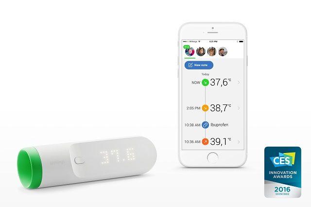 2秒で検温できて記録もしくれる、近未来な体温計   roomie(ルーミー)