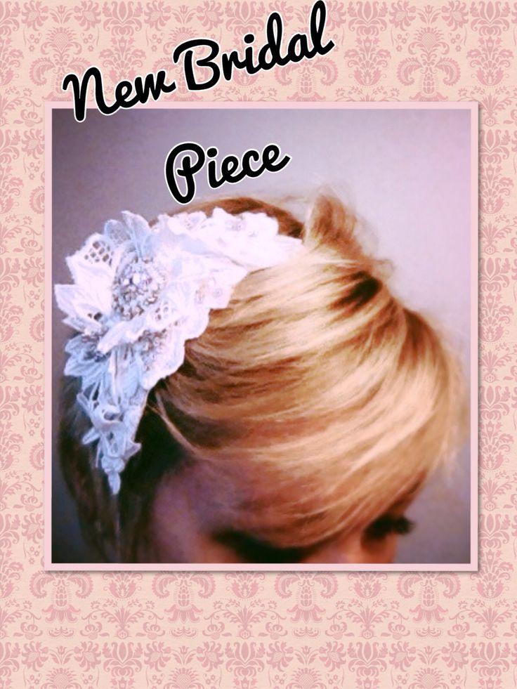 Small white lace bridal