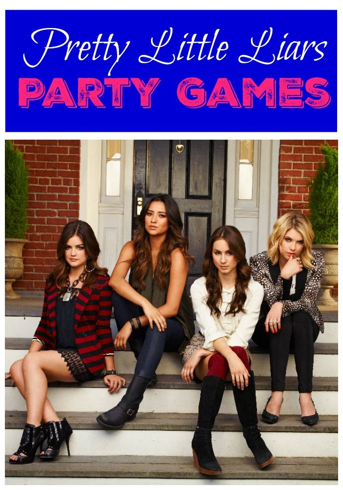 Through the best party ev-ah with our Pretty Little Liars Party games. You won't want to keep this party a secret, these games are fun!