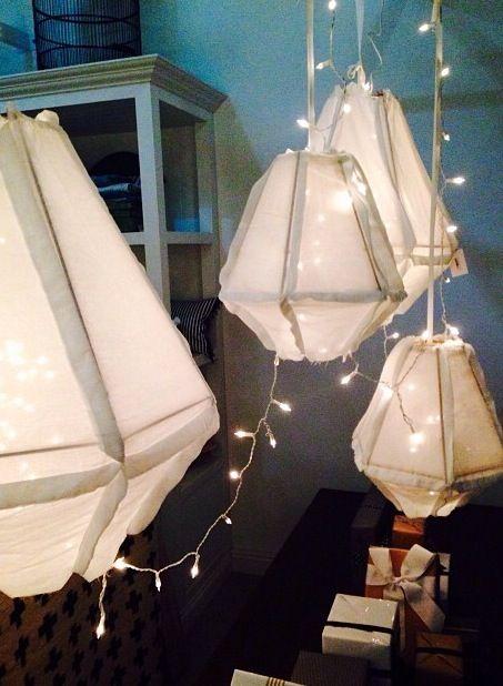Star lit light #love #lanterns #magnoliainteriors #pretty #fairylights