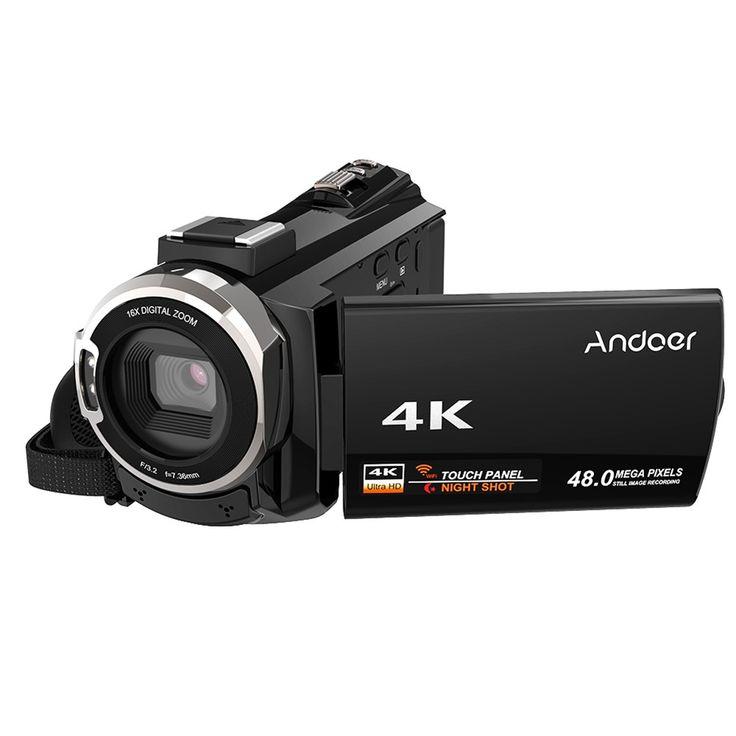 Andoer 524KM 4K 1080P 48MP WiFi Digital Video Camera Sales Online Array - Tomtop