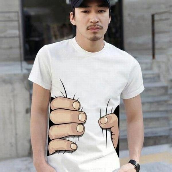 nice tshirt lolTees Shirts, Optical Illusions, Fashion, Style, Hands, King Kong, Tshirt, T Shirts Design, Funny Men