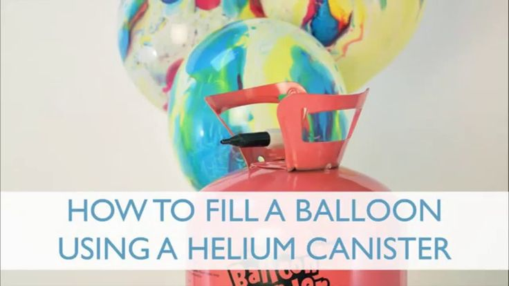 Filling a Helium Balloon