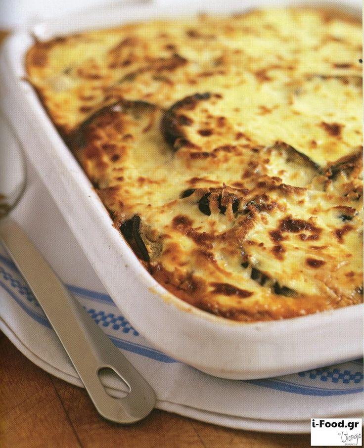Μουσακάς για χορτοφάγους - Συνταγή i-Food.gr by Giorgio Spanakis