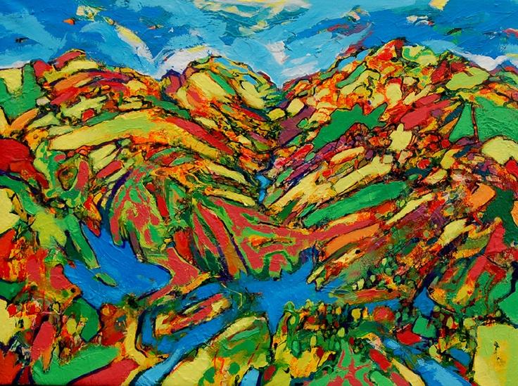 Reading Contemporary Art Fair 2013-David Brightmore-Hills Are Alive