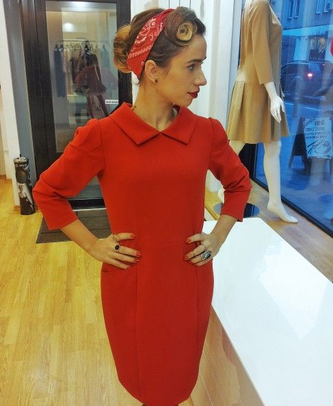 Fii fascinantă! Adoptă Stilul Pin Up! #rochierosie #reddress #pinup