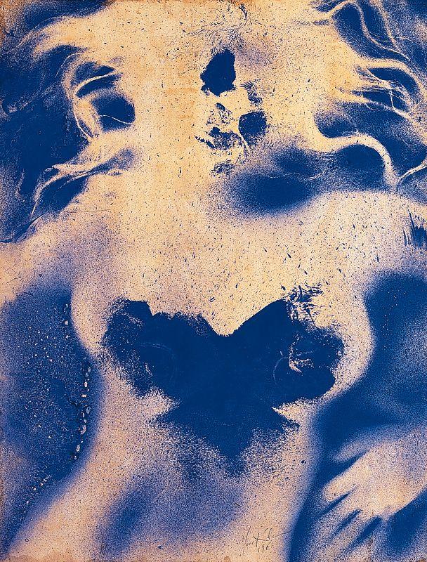 Yves Klein, Anthropométrie sans titre (ANT 176), 1960, 65 x 50 cm