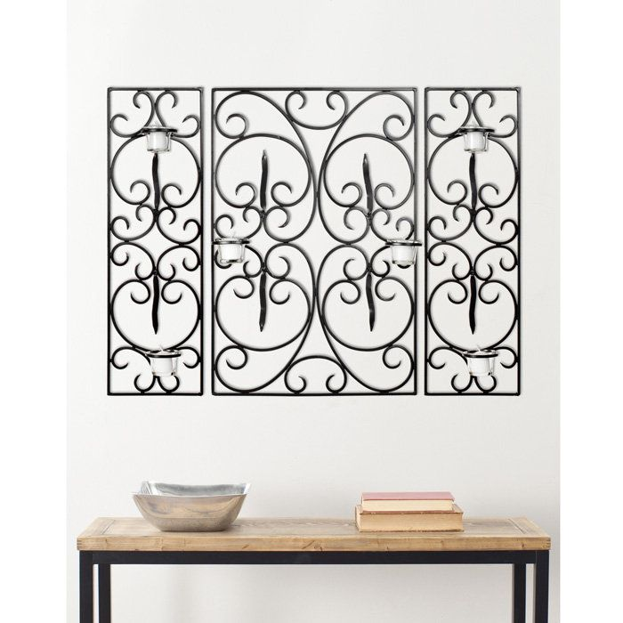 15 best Wrought Iron Wall Decor images on Pinterest   Iron wall ... - wrought iron wall designs