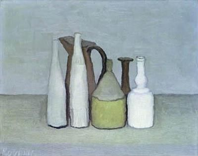 Morandi Giorgio Morandi, Natura Morta, huile sur toile (1956), Mart Rovereto (Italie) <3