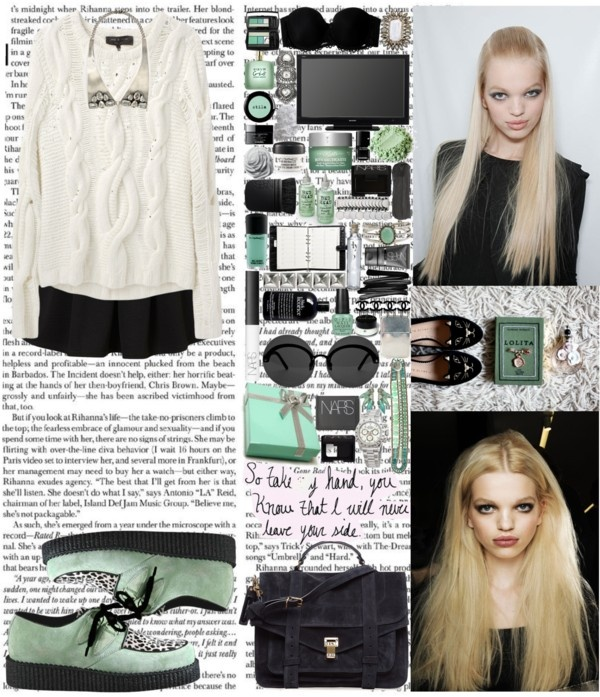 """Pretty girl, pretty girl, pretty girl you should be smiling A girl like you should never live so blue You're everything I see in my dreams I wouldn't say that to you if it wasn't true I know that you don't know it, but you're fine, so fine Oh girl"" by labelsoflove ❤ liked on Polyvore"
