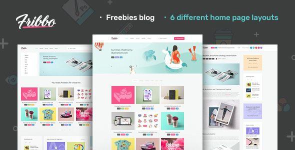 Free Download Fribbo Freebies Blog Wordpress Theme In 2020 Blog Themes Wordpress Wordpress Theme Wordpress Blog