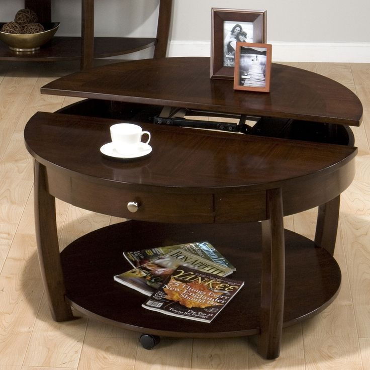 Ida Coffee Tables High Gloss White With Grey Pull Out: Best 25+ Coffee Table With Drawers Ideas On Pinterest