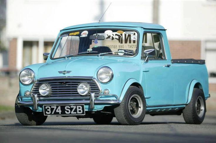 Mini classic pickup, I would love to own one.