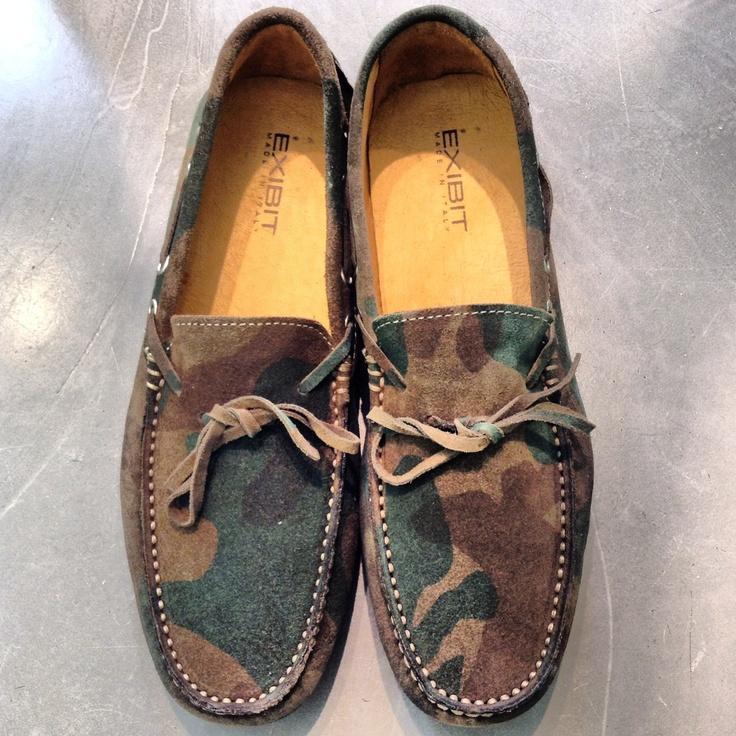 #exibit #camouflage #shoes