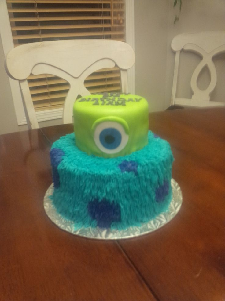 Monsters Inc Birthday Cake Imagine It In Icing Cakes