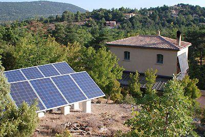 DECOUVERTE SAINTE BAUME : ENERGIE SOLAIRE PHOTOVOLTAIQUE