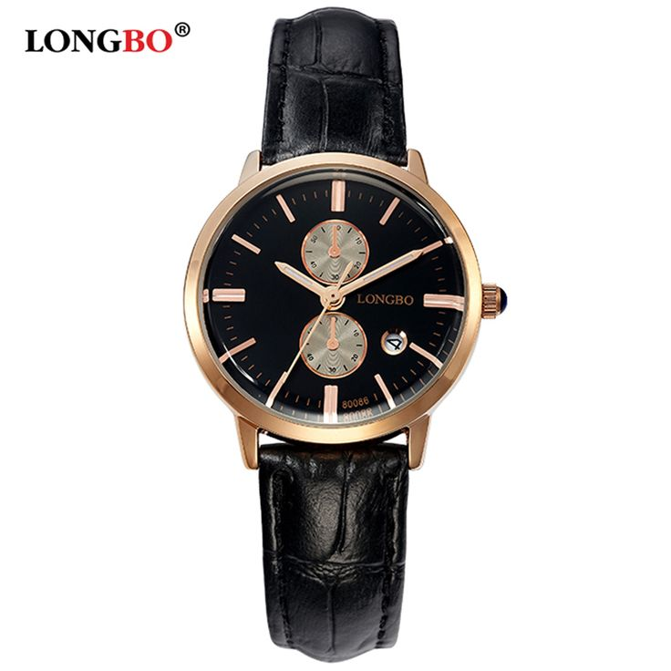 Find More Fashion Watches Information about LONGBO Brand Elegant Ladies Ultrathin Waterproof Dress Watches relogio feminino Fashion Leather Women Quartz Watch quartz watch,High Quality Fashion Watches from YIKOO fashion watches on Aliexpress.com