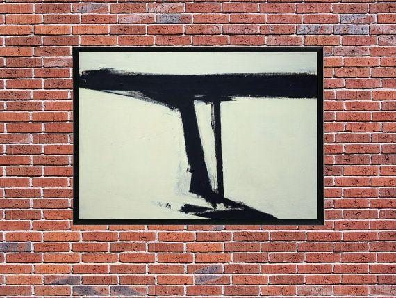 Franz Kline - Le Gros, Contemporary Art, Franz Kline Print, Vintage Reproduction, Franz Kline Posters, Modern Art, German Art Wall Decor
