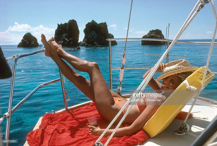 News Photo : Model Christie Brinkley is photographed for the...