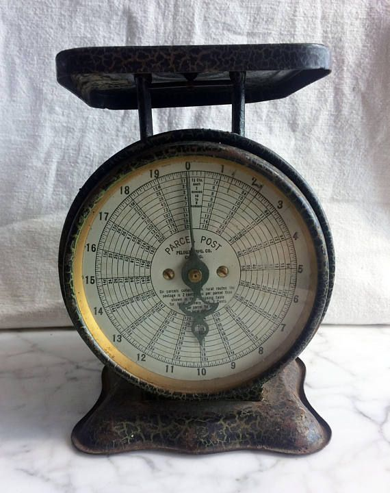 Antique Postal Scale Turn of Century Scale Postal Scale