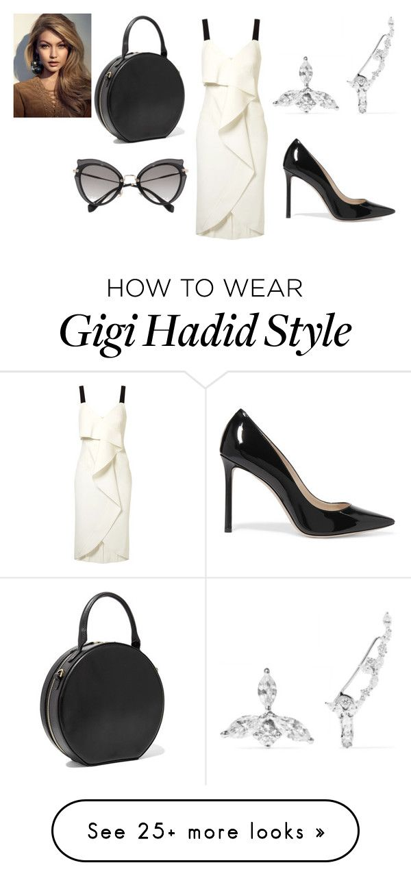 """Sin título #4610"" by ceciamuedo on Polyvore featuring Jason Wu, Jimmy Choo, Mansur Gavriel and Miu Miu"