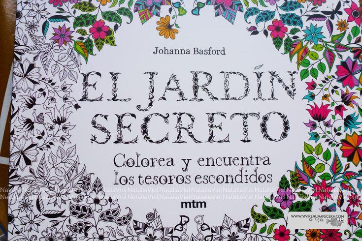 Vivir en una Pecera: Reseña: El Jardín Secreto (libro de colorear para adultos )
