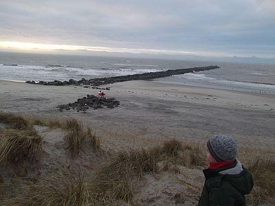 Mole - Hvide Sande - Nordsee - Dänemark