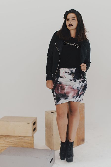 nice The Good Life Tee-BLK by http://www.polyvorebydana.us/curvy-girl-fashion/the-good-life-tee-blk/
