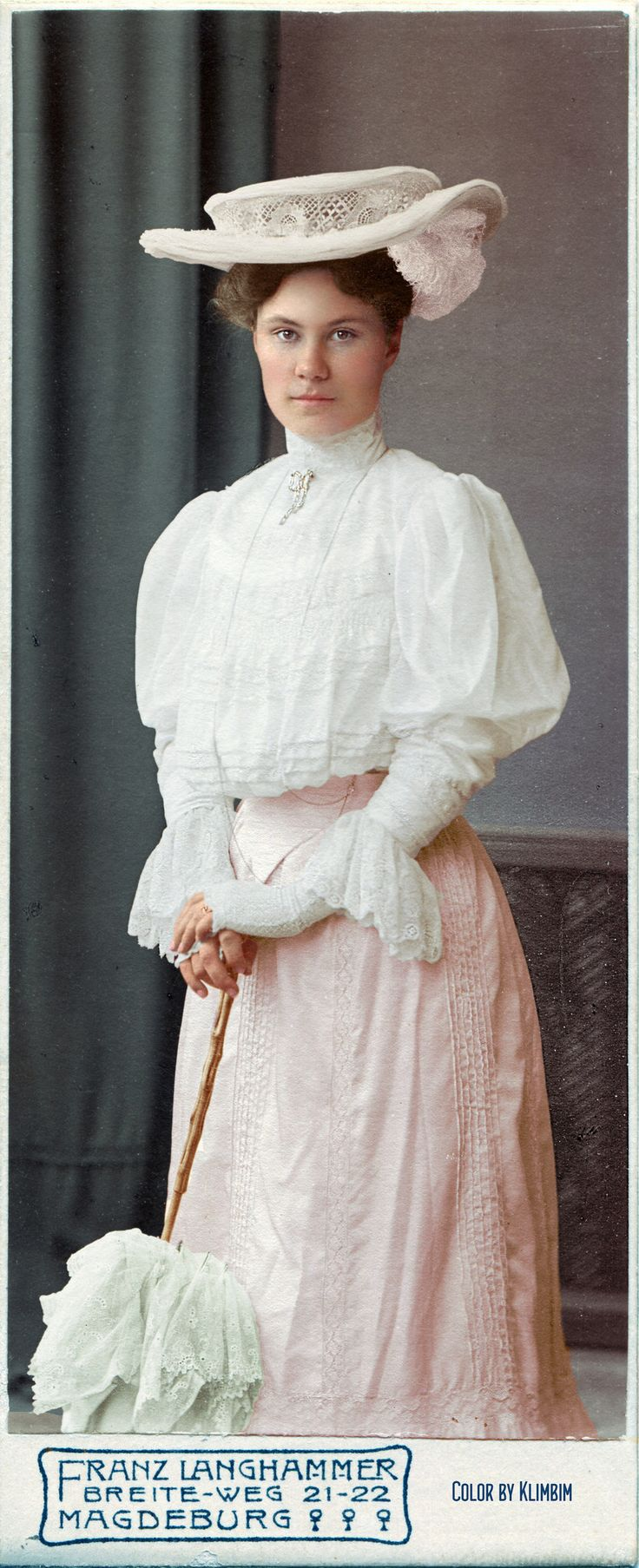 https://flic.kr/p/BAHf39 | A fashionable lady from Magdeburg, 1905