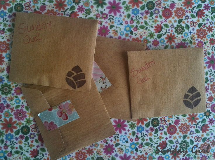 Handmade envelopes for Martis Μάρτης Μαρτάκια March bracelet Martakia