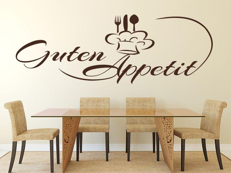 die besten 17 bilder zu wandtattoos küche & esszimmer auf ... - Wandtattoos Küche Esszimmer