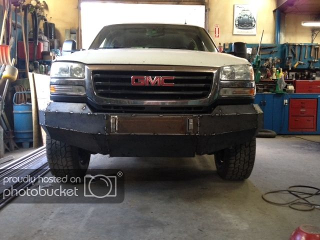 06 Front Bumper Build Chevy And Gmc Duramax Diesel Forum Chevy Trucks Accessories Duramax