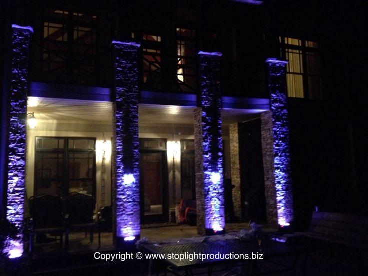 Pinterest outdoor lighting just b cause for Exterior uplighting