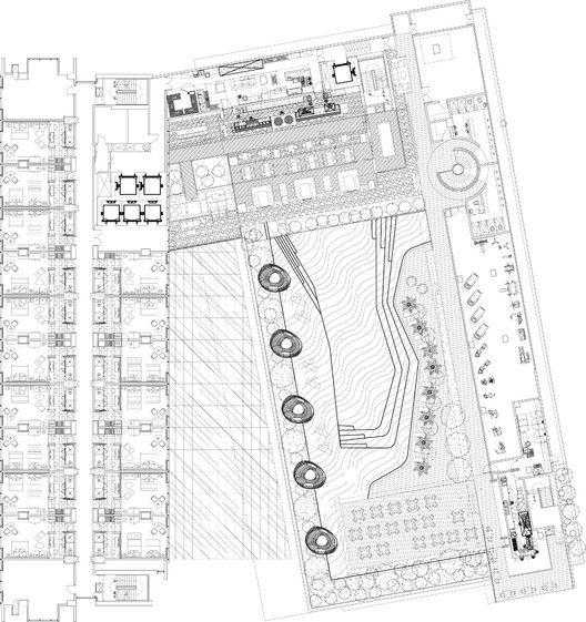 Bandung Hilton,plan