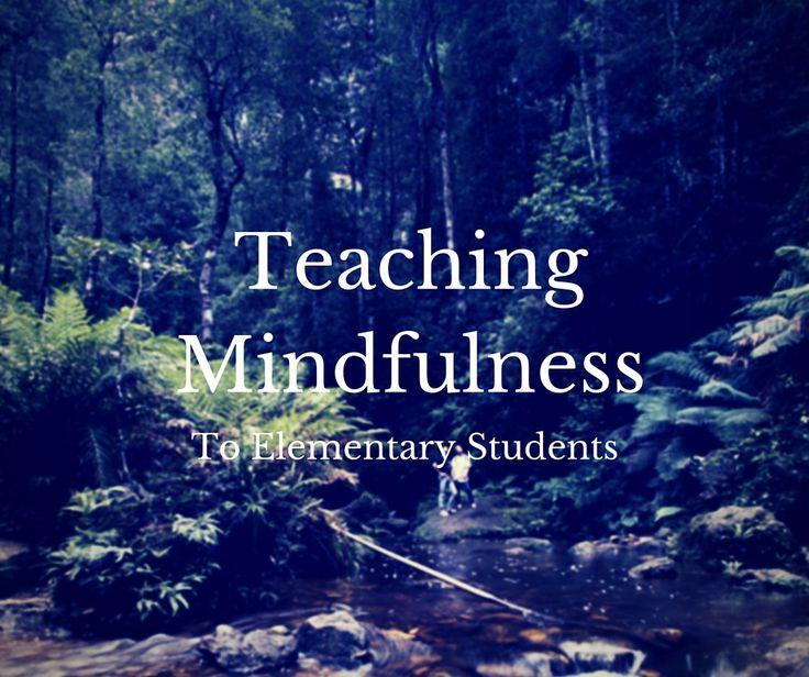 how to teach mindfulness meditation
