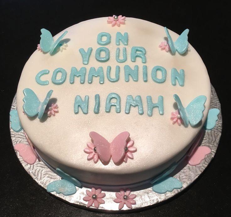 Communion Cake for the not so girly girl 🙏🏻💝