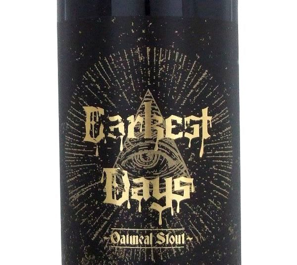 Liberty Darkest Days Oatmeal Stout 500ml Beer in New Zealand - http://www.frenchbeer.co.nz/beer-from-france-in-nz/liberty-darkest-days-oatmeal-stout-500ml-beer-in-new-zealand/ #French #Beer #nzbeer