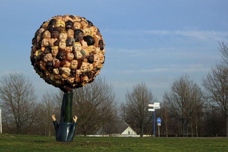 """""""Koester diversiteit"""", Paul de Reus, Almere Haven, 2008"""
