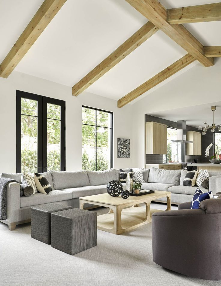 SHM Architects | W Circle Dr | Living Space | Living Room