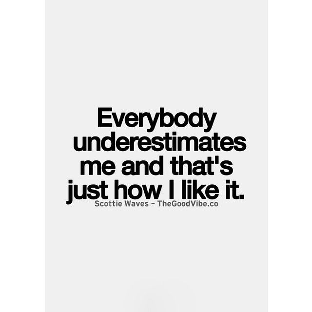 Not really but it does make me try harder to prove them wrong