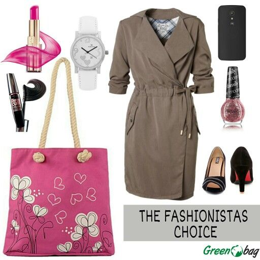 #fashion tip of the day. Be #chic and #trendy with #GreenoBag