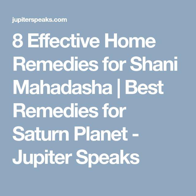 8 Effective Home Remedies for Shani Mahadasha   Best Remedies for Saturn Planet - Jupiter Speaks