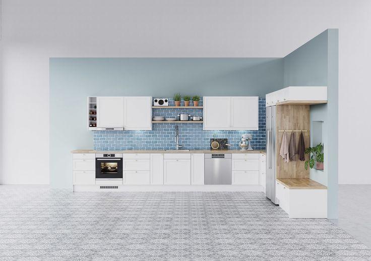 Köksinspiration - Shaker - kök i shaker-stil från Epoq hos Elgiganten